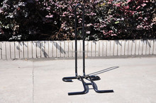 portable bike display rack/ stand / shelf with firm structure and better anti-corrosion