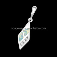 Nickel Free Lead Free Sword Shaped White Fire Opal Silver Pendant Alibaba China Manufacturer