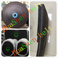 Dunlop calidad pequeño negro plana cinta transportadora para trituradora de piedra / fábrica de papel / plantas de acero