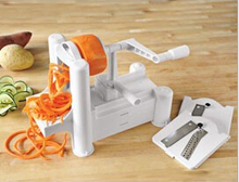 1 Set Fruit Garnish Cutter Peeler Spiral Fruits Vegetable Curly Slicer Kitchen Tools