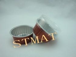 Colorful Disposable Aluminum Foils Baking Cup/Container Wholesale
