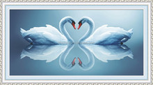 """Touch the heart"" New 5D round crystal diy diamond painting"