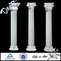 Boda decorativos de mármol y columna