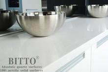 scratch resistant quartz stone countertop