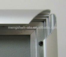 aluminum profile silver anodizing best quality 25mm snap frame profile