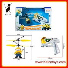 NEW! Despicable Me Gun Shape Controller Induction Control RC Minion Fly RC