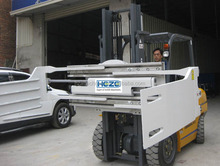 forklift truck attachment for forklift bale clamp