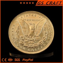 Supply 2015 popular gold plated pocket for coin