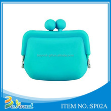 Promotional cheap silicone purse wallet