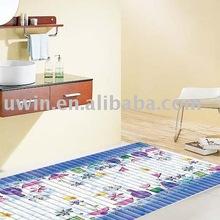 Cuarto de baño esteras/alfombrillas, la alfombra que cubre, suelo de moqueta pvc