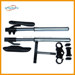 Silver and yellow dirt bike suspension front fork fit for dirt bike motorcycle