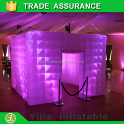 wedding photo booth used led lighting photo booth picture frame