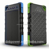 Shenzhen 8000mAh Portable Battery Universal solar Power Bank For Mobile Phone