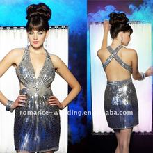 DF0153 Sexy Heavy Sequins Mini Cocktail Dress 2012