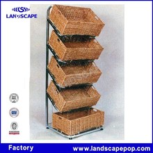 Hamburger and bread display stand --wheat base for student