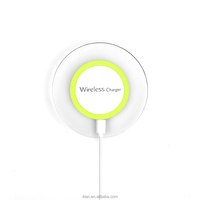 itian amazon popular seller qi wireless magnetic induction charger for galaxy s5 for sony xperia z c6603