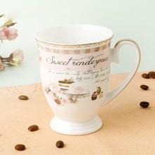 New design good price ceramic bone china mug cup for gift