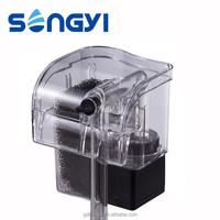 External hanging water filter for fish tank