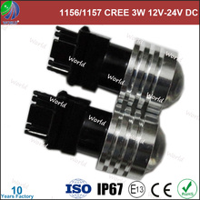 Ultra bright,3156/3157/1156/1157/7440/7443,3W high power with lens,led light auto tuning