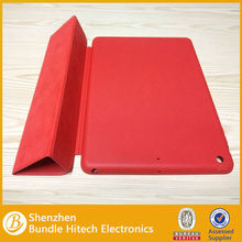 For iPad Air smart case,leather case for iPad 5,folding leather case for iPad Air