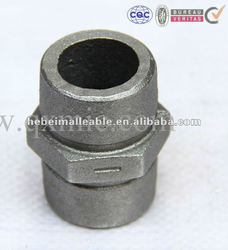 hot dipped galvanized malleable iron high pressure water meter pipe fitting nipple with good quality and low price
