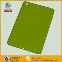 """Green Soft TPU Silicone Bumper Case Silicone Bumper Case skin cover for Apple Ipad mini 7.9"""""""