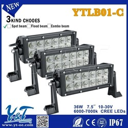 "top sales newest design popular 36w7.5"" straight led light bar off road led light bar offroad high power car bar light"