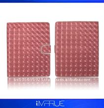 top quality!! magnetic leather protector for ipad 2 with new design
