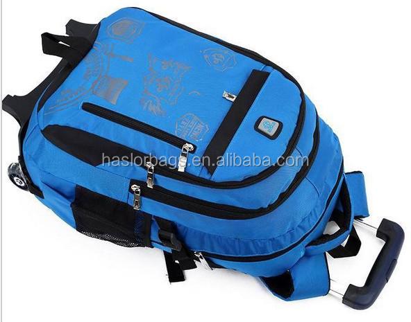 Garçon scolaires roues sac à dos pour l'école