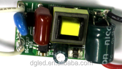 Good supplier 180-240ma 18w internal end cap led driver with CE