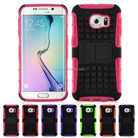 Shock Proof Heavy Duty Hard Back phone Case Cover For Samsung Galaxy S6 Edge