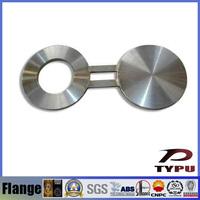 Stainlesss steel spectacle blind flange, weld neck blind flanges