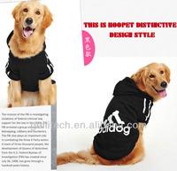 Wholesale fashion pet apparel dog clothes,cute dog coat with hoodies wholesale dog coat Hooded Cotton Sweater