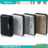 Modern design high capacity universal power bank for iphone mouse power bank