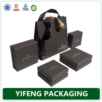 Eco-friendly Glue Black Printing Paper Boxes Cardboard For Gifts Packaging