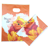 Fashion Perforated Die Cut Handle Plastic Bags for Clothes