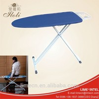 Hotel net top folding ironing board with three T leg