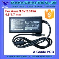 laptop adaptor for Asus 9.5v 2.315a 22w mini adapter 4.8 1.7 mm