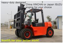 good quality toyota forklift truck 5ton diesel fork lifter 10000lb loading forklift truck