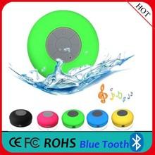 2015 Best Outdoor Portable Speaker, New Waterproof Bluetooth Speaker with Suction Cup, Bluetooth Speaker with Handsfree