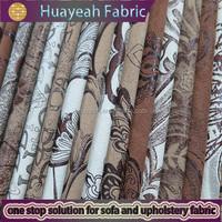 100% Polyester bronzing sofa suede alcantara fabric