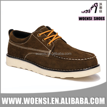 high quality china factory top selling latest fashionable old men warm autumn winter lace up low cut casual shoes