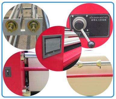 auto preheat and off fabric digital sublimation transfer prinitng machine