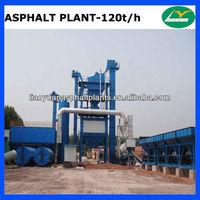 China professional 120t/h asphalt batch mix plant manufacturer