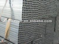 zinc 20-32um tw 1-2.5mm pre-hd galvanized hollow section steel tube