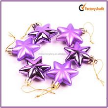 2015 Hot Sale Popular High Quality Christmas Shooting Purple Star Decoration