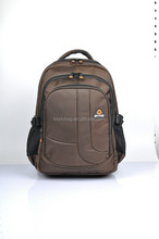 New arrive college bags for men high class student school bag backpack