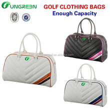 Hot Sale Golf Cart Bag In Leather Material