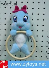 Animal plush towel holder with best price dolphin hang hook