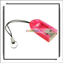 Hot Sale Red USB 2.0 Micro SD TF Memory Card Reader
